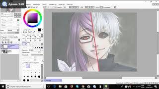 Download Video speed drawing - RIZE & KANEKI - Tokyo Ghoul MP3 3GP MP4