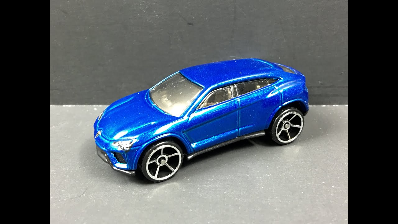 hot wheels lamborghini urus blue 164 review - Lamborghini Urus Blue
