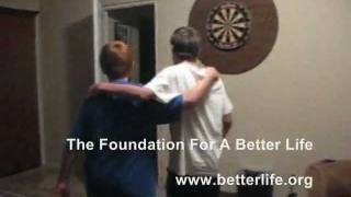 The Foundation For A Better Life Spoof.