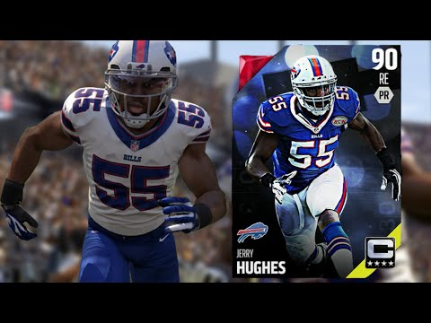 FIRST RAGE QUIT - 90 OVR Captain Jerry Hughes! - MUT 16 Ep. #2