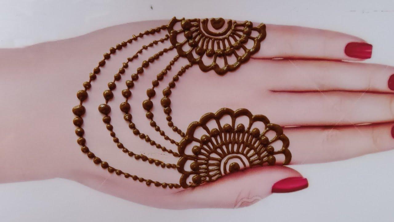 Eid Special Mehndi Designs Back Hand Mehndi Design Easy Mehndi Designs For Hands Youtube