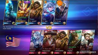 DC MOBILE LEGENDS SRI LANKA vs MALAYSIA