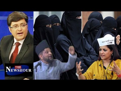 Oppose Triple Talaq - 23 Year Old Nasrin Was UNILATERALLY Divorced: The Newshour Debate (2nd Nov)