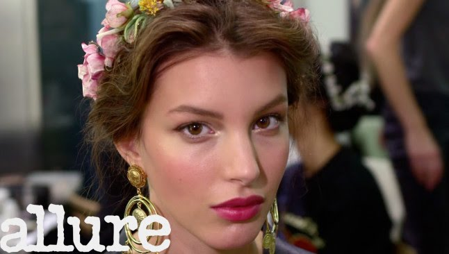 The Look of Dolce & Gabbana Spring 2014 - Allure