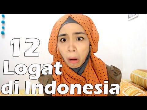 12 Logat Indonesia