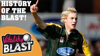 History Of T20 Cricket! | Blasts From The Past | Vitality Blast Finals Day 2019