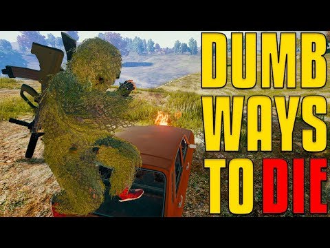 Dumb Ways To Die | PUBG