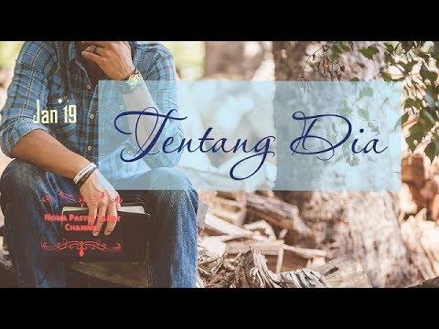 TAURUS : JAN'19, TENTANG DIA, ~CINTA DALAM PENANTIAN