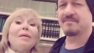 Ольга Кормухина и Алексей Белов поздравляют Парк Горького с Днем Рождения