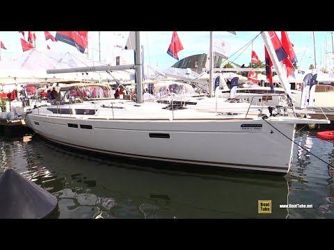 2017 Jeanneau Sun Odyssey 479 Yacht  - Deck and Interior Walkaround - 2017 Annapolis Sail Boat Show