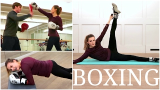 MY BOXING WORKOUT | Niomi Smart VLOG
