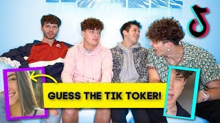 GUESS THAT TIK TOK STAR CHALLENGE! Ft. Tayler Holder & Griffin Johnson