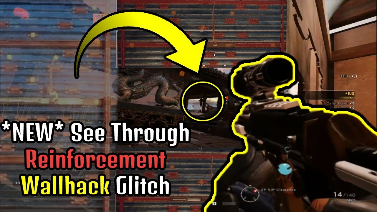 See Through Reinforced Walls Glitch | Ranked is Unplayable Right now -  Rainbow Six Siege