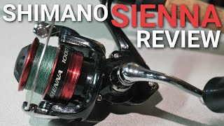 Shimano Sienna FG video