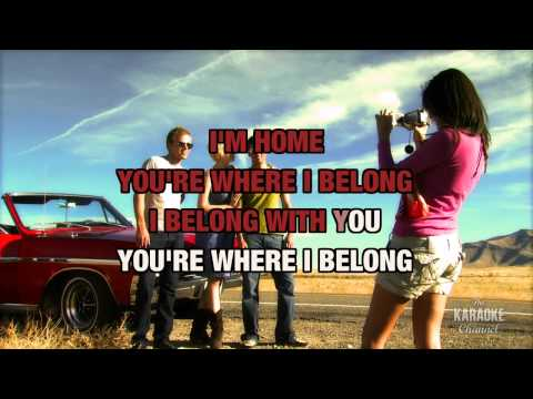 "You're Where I Belong in the Style of ""Trisha Yearwood"" with lyrics (no lead vocal)"