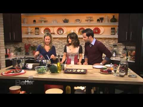 Stacey Antine Makes Creamy Broccoli Soup