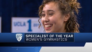 UCLA's Katelyn Ohashi wins 2018 Pac-12 Women's Gymnastics Specialist of the Year honors