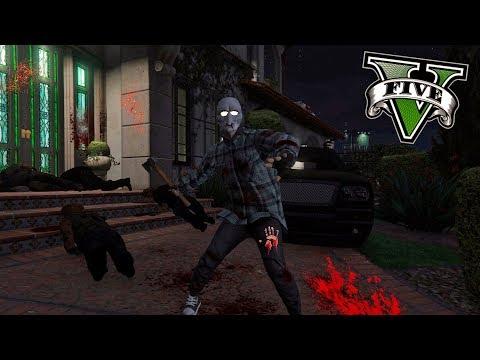 GTA V PC MODS - LA PURGA ANUAL LLEGA A LOS SANTOS ! OMG - ElChurches