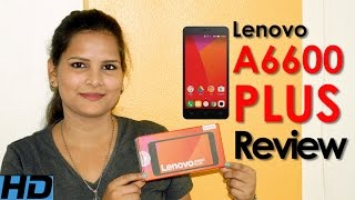 Lenovo A6600 Plus Unboxing and Review Hindi | Price | Specifications | Camera | Battery | Ratings