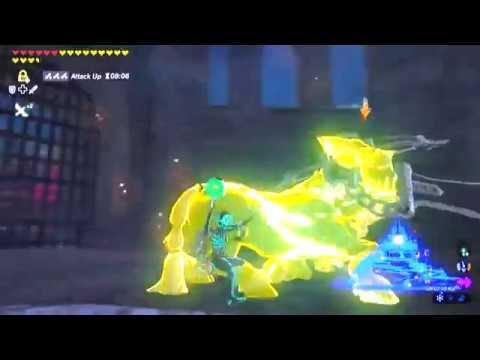 Botw 126 Hyrule Castle Second Floor Royal Guard Cap First Second Gatehouse Lynels Youtube