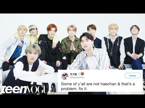 NCT 127 Compete in a Compliment Battle   Teen Vogue
