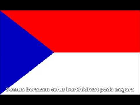 Sarawak State Anthem ' Sarawak Bahagia ' (1973-1988)