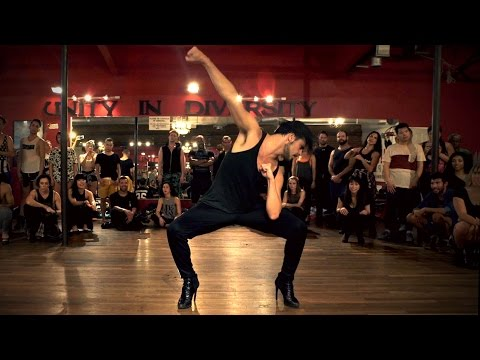 "YANIS MARSHALL HEELS CHOREOGRAPHY ""7/11"" BEYONCÉ. MILLENNIUM IN LOS ANGELES. FILMED BY @timmilgram"