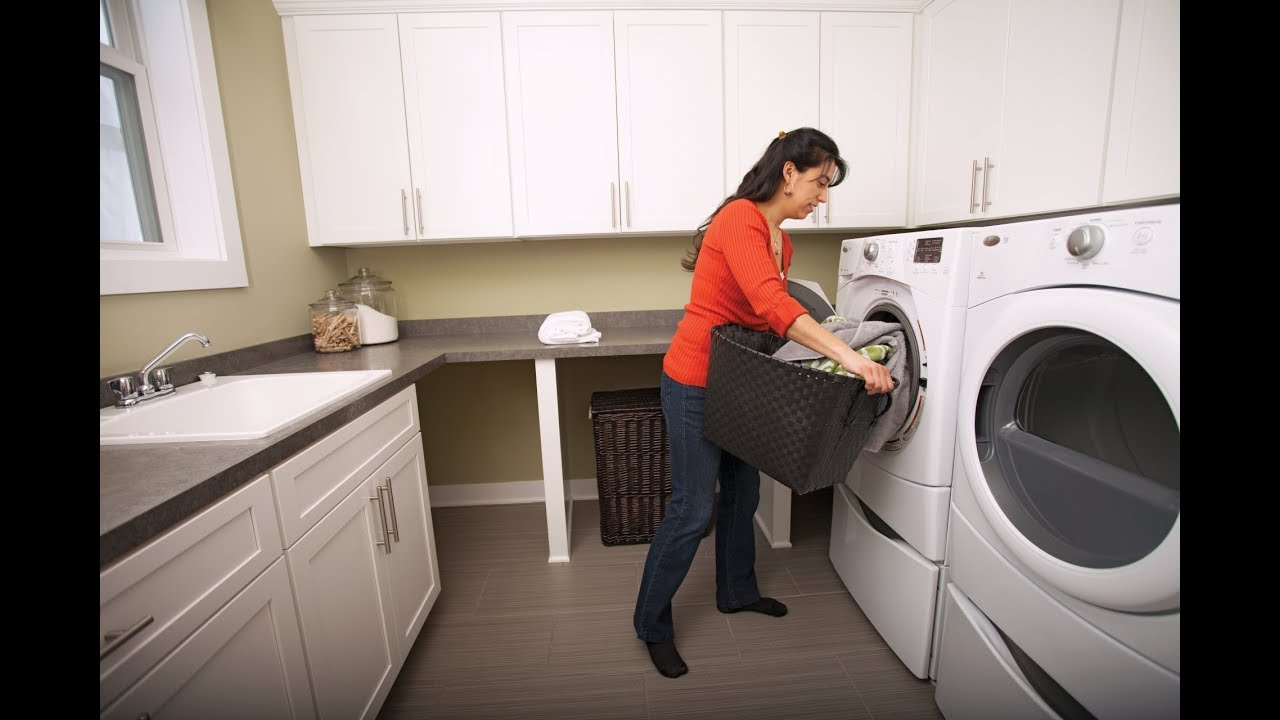 Spacious Laundry Room Design Modern Laundry Rooms Pulte