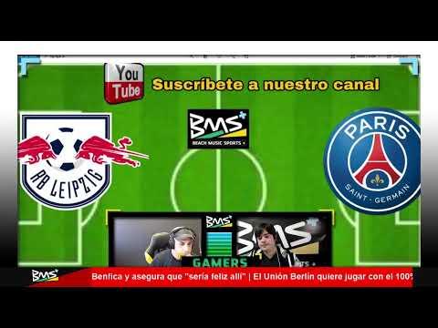 EN DIRECTO | LEIPZIG vs PSG | CHAMPIONS LEAGUE | BMS+ RADIO LIVE