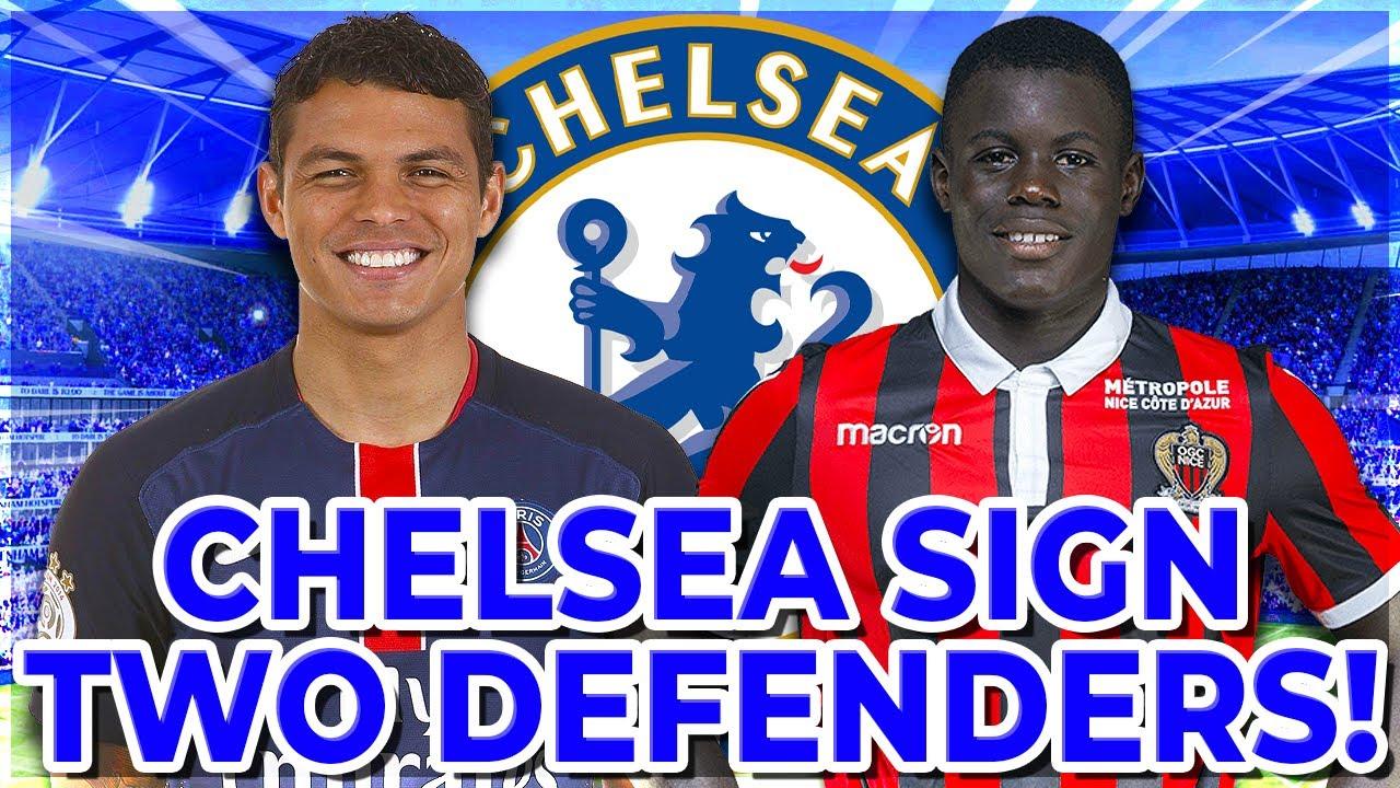 Breaking Chelsea Complete Thiago Silva Malang Sarr Transfer Chelsea News Youtube