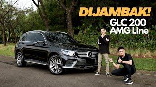 Test Drive Mercedes Benz GLC 200 AMG Line 2019 | 2020
