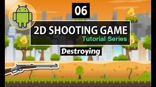 Unity 2d Android Shooting game tutorial in hindi - urdu | 06