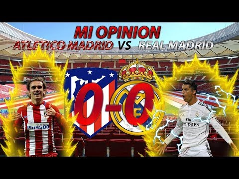 ATLETICO MADRID 0-0 REAL MADRID | 2 EQUIPOS EN CRISIS Y ZIDANE GRAN CULPABLE
