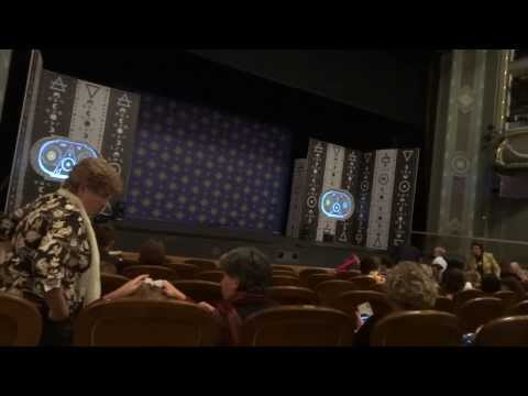 Inside Bolshoi theatre in Moscow, Russia