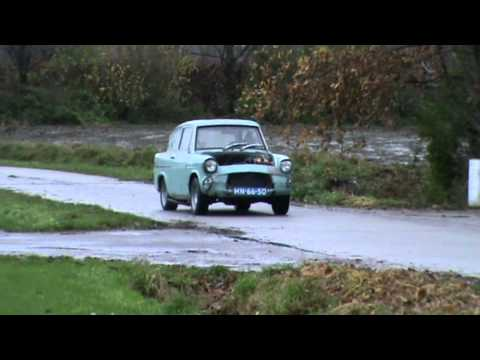 Ford Anglia V8 first testdrive