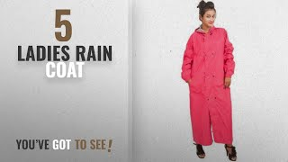 Top 10 Ladies Rain Coat [2018]: Newera Reverseable Classic Power Goose Down Solid Taping Rain Coat