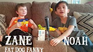 Zane (Fat Dog Fanny) and Noah do their first 'Try Not to Laugh' Challenge