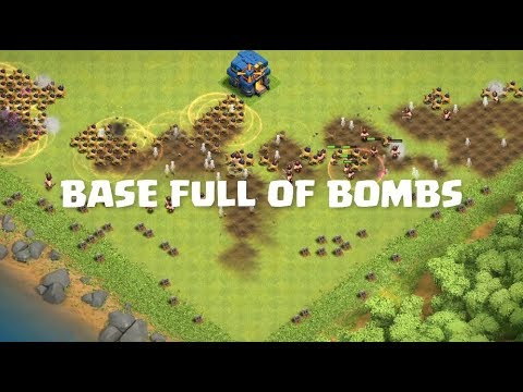 Every Troops VS Full BOMB Base | Clash Of Clans