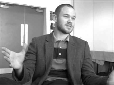 Warehouse 13's Aaron Ashmore Press Interview at London MCM Expo
