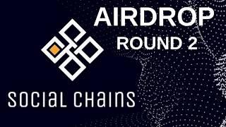 Airdrop SocialChains как получить монеты и пройти верификацию... #s token #ethereum #airdrop