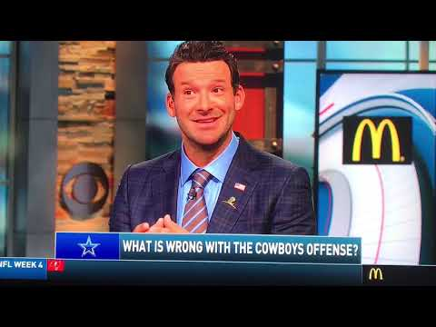 Tony Romo In Studio Talking All Things NFL and his Beloved Dallas Cowboys