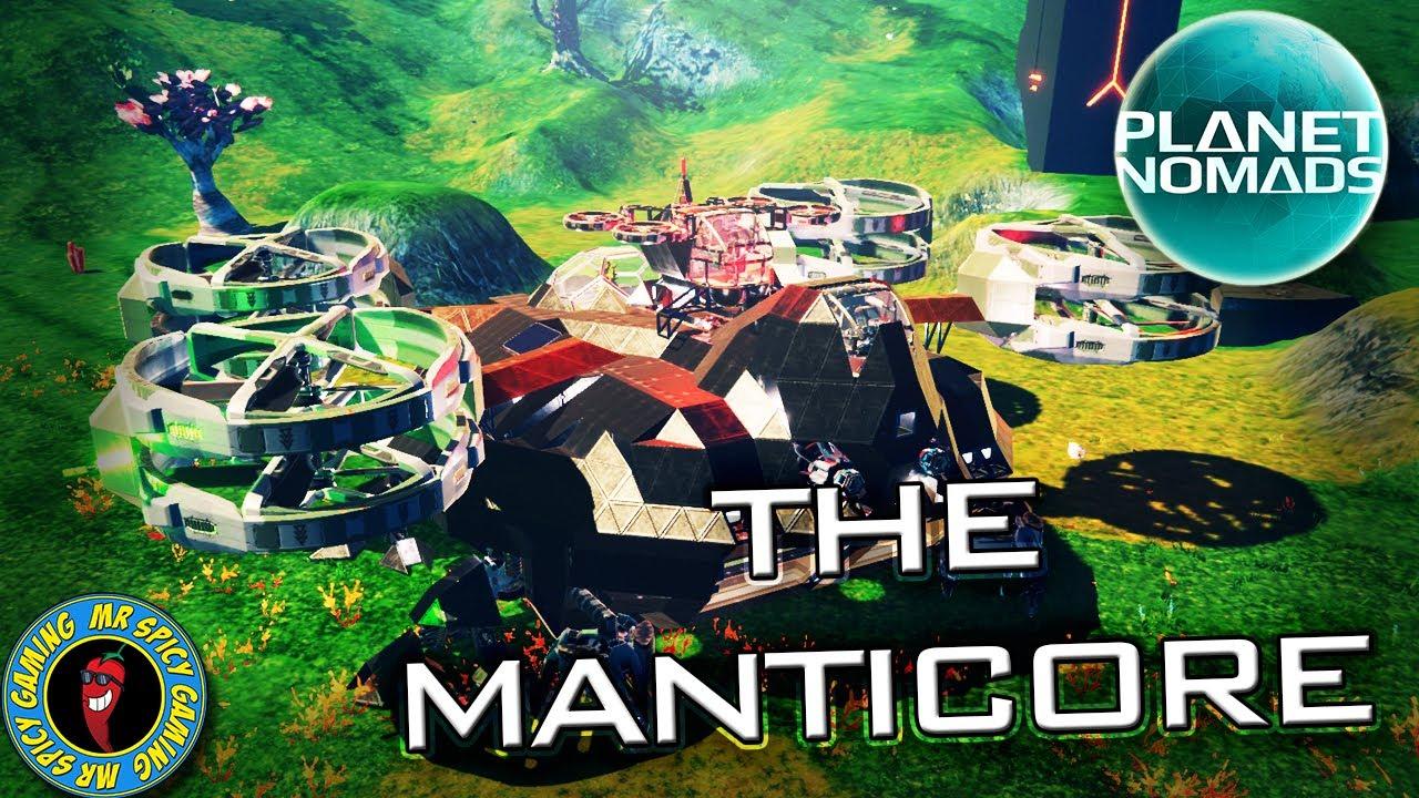 VERIFICANDO O MANTICORE PEU - Planet Nomads Gameplay S2 Ep28 + vídeo