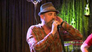 """CAKE perform """"Mustache Man"""" at California's Rock Station 98 Rock"""