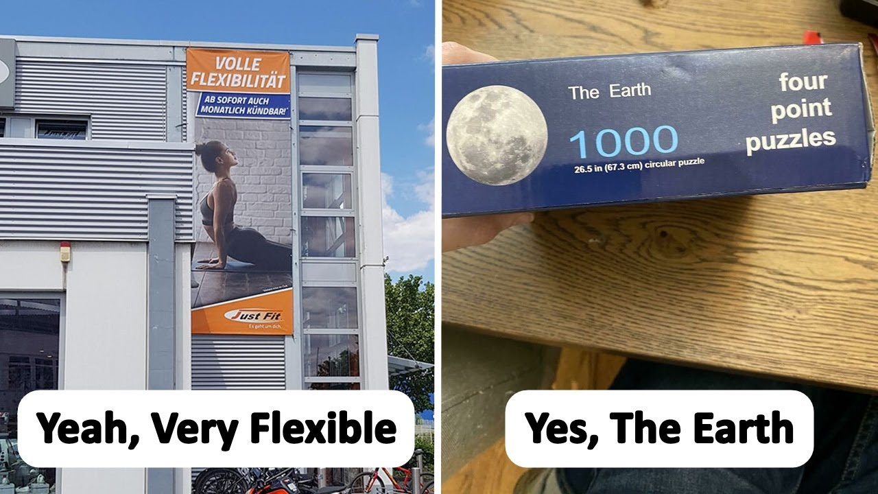 The Most Funny Advertising Fails