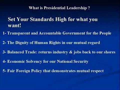 Presidential Leadership Election 2008
