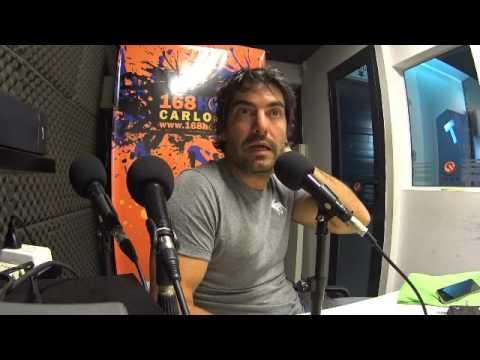 Iván Coldorf -  Huerta orgánica Mercado de la Tierra de Carlos Paz - 168 Horas Radio