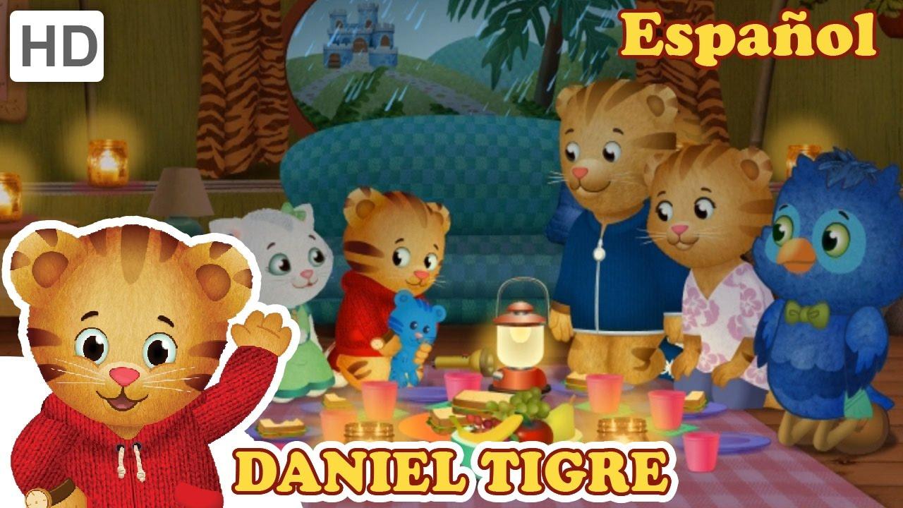 Daniel Tigre en Español - Una tormenta en el Vecindario ...