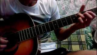 """сумерки (Yiruma """"River Flow in You"""") на гитаре (+табы)"""