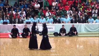 第16回世界剣道  準決勝 日本対ハンガリー Japan vs Hungary [16th wkc]