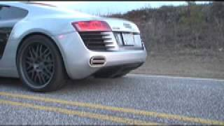APR Audi R8 Exhaust
